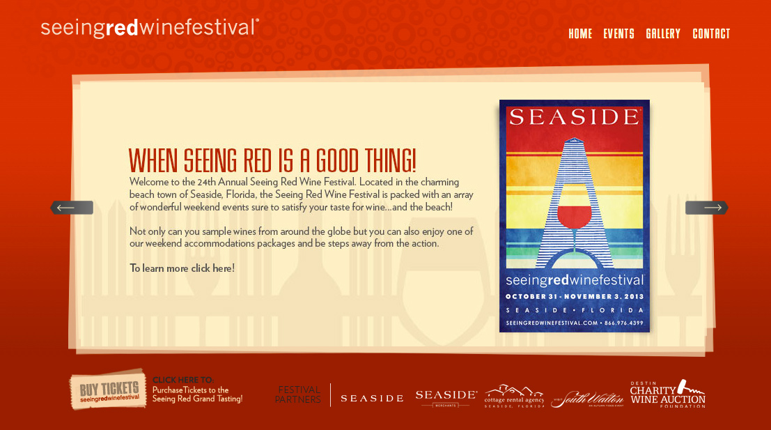 Image courtesy of the Seeing Red Wine Festival