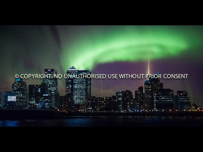 LONDON AURORA FACTORY by Dave Cromack
