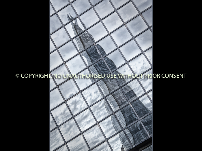 THE SHARD REFLECTED by Sue Vaines.jpg