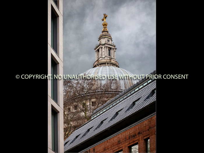 ST PAULS FROM PATERNOSTER by Simon Raynor.jpg