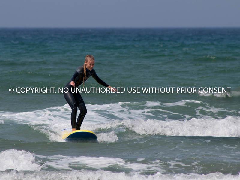 NOVICE SURFER by Ian Jackson.jpg