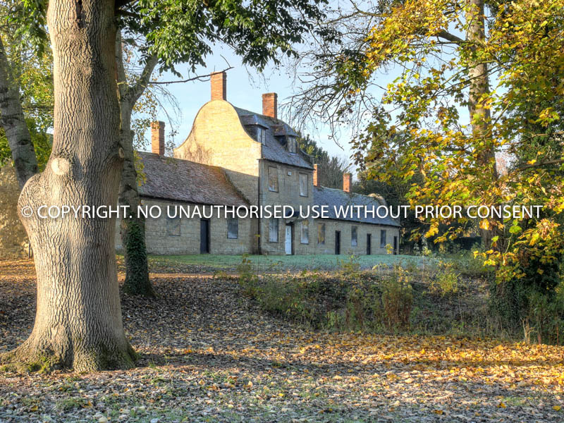 ALMSHOUSES AUTUMN MORNING by Mike Newman.jpg