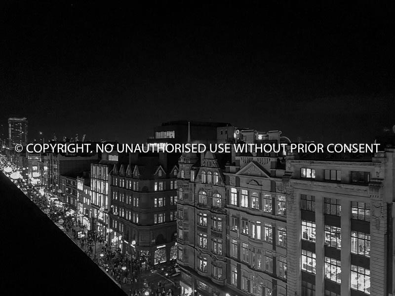 A VIEW OF OXFORD STREET AT NIGHT by U Gavin.jpg
