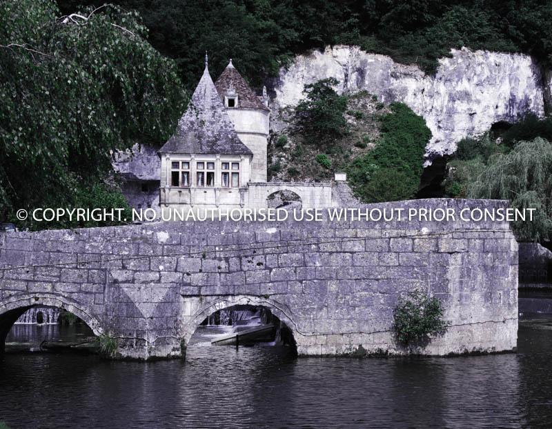 BRANTOME BRIDGE 2 by Peter Fortune.jpg