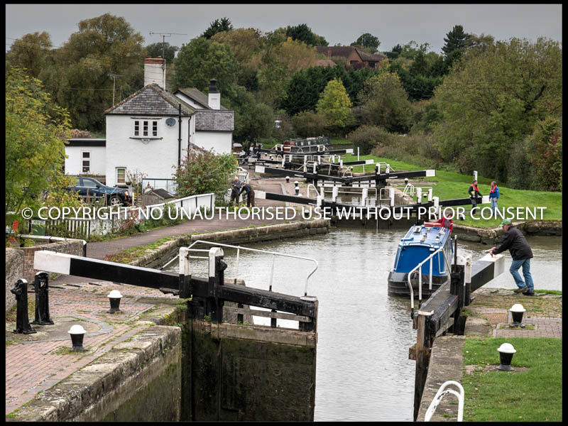 ENTERING THE THIRD LOCK by Mike Newman.jpg