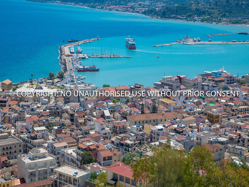 ZAKYNTHOS HARBOUR by Peter Fortune.jpg