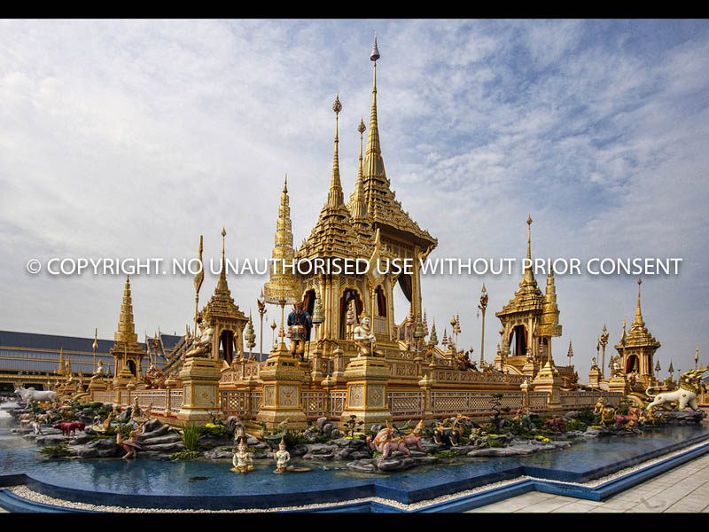 KING FUNERAL PYRE THAILAND OCT 2017 by Rodney Marsh.jpg