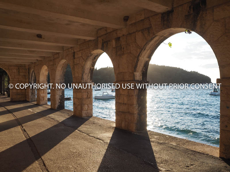 CAVTAT ARCHES by Angela McLean.jpg