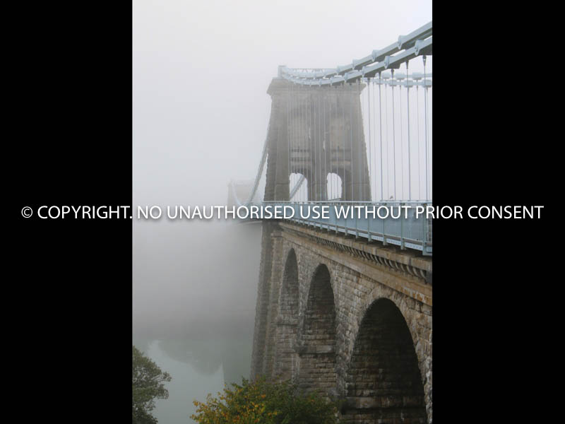 MENAI BRIDGE TO ANGLESEY IN MIST by John Warren.jpg