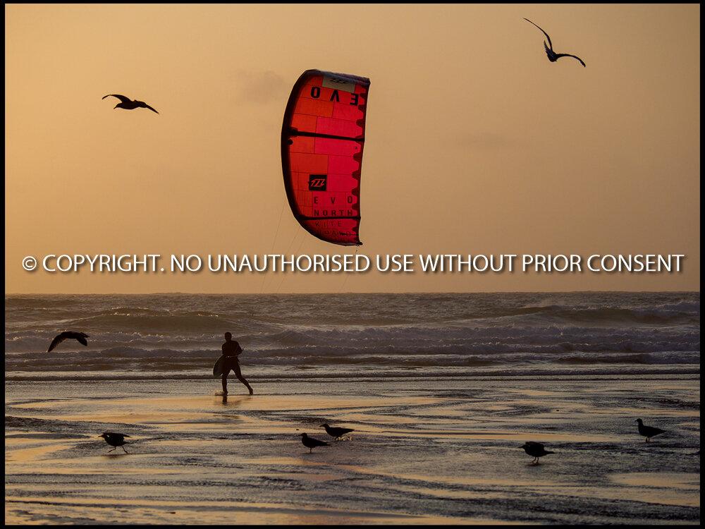 KITE SURFER WALKING by Iain Morrison.jpg