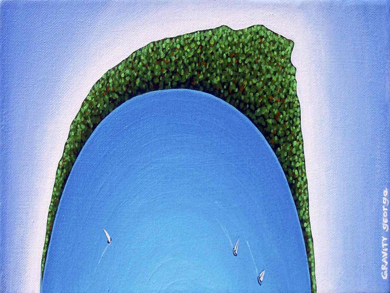 Curved Rangitoto