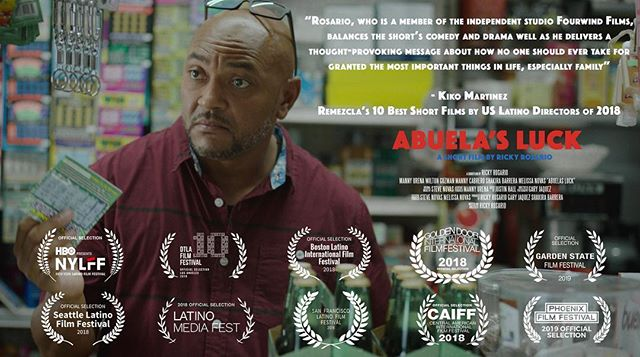 🔥🎟 TICKETS IN BIO 🎟🔥for our 3 upcoming screenings at @phoenixfilmfestival in Arizona!! • • Friday April 5th Monday April 8th Wednesday April 10th • • Let us know if you'll be able to make it to any of the screenings!!🇩🇴🇺🇸💪🏼✊🏼 • • • #abuelasluck #shortfilms #critics #criticreview #topten #best #criticsreview #posters #promo #phoenixfilmfestival2019 #phoenix #remezcla #remezcla2018 #endoftheyearlist #asburypark #newjersey #nj #jersey #nyc #newyorkcity #dominicans #dominicansinhollywood #latinxinhollywood #latinosinhollywood #latinx #latinos