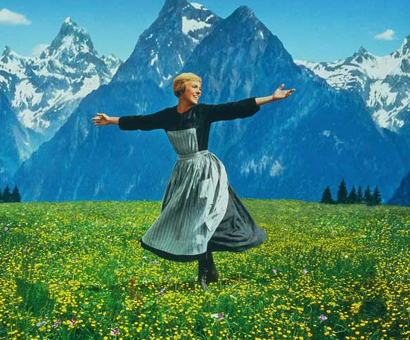 Julie Andrews Rodgers and Hammerstein's The Sound of Music, 1965