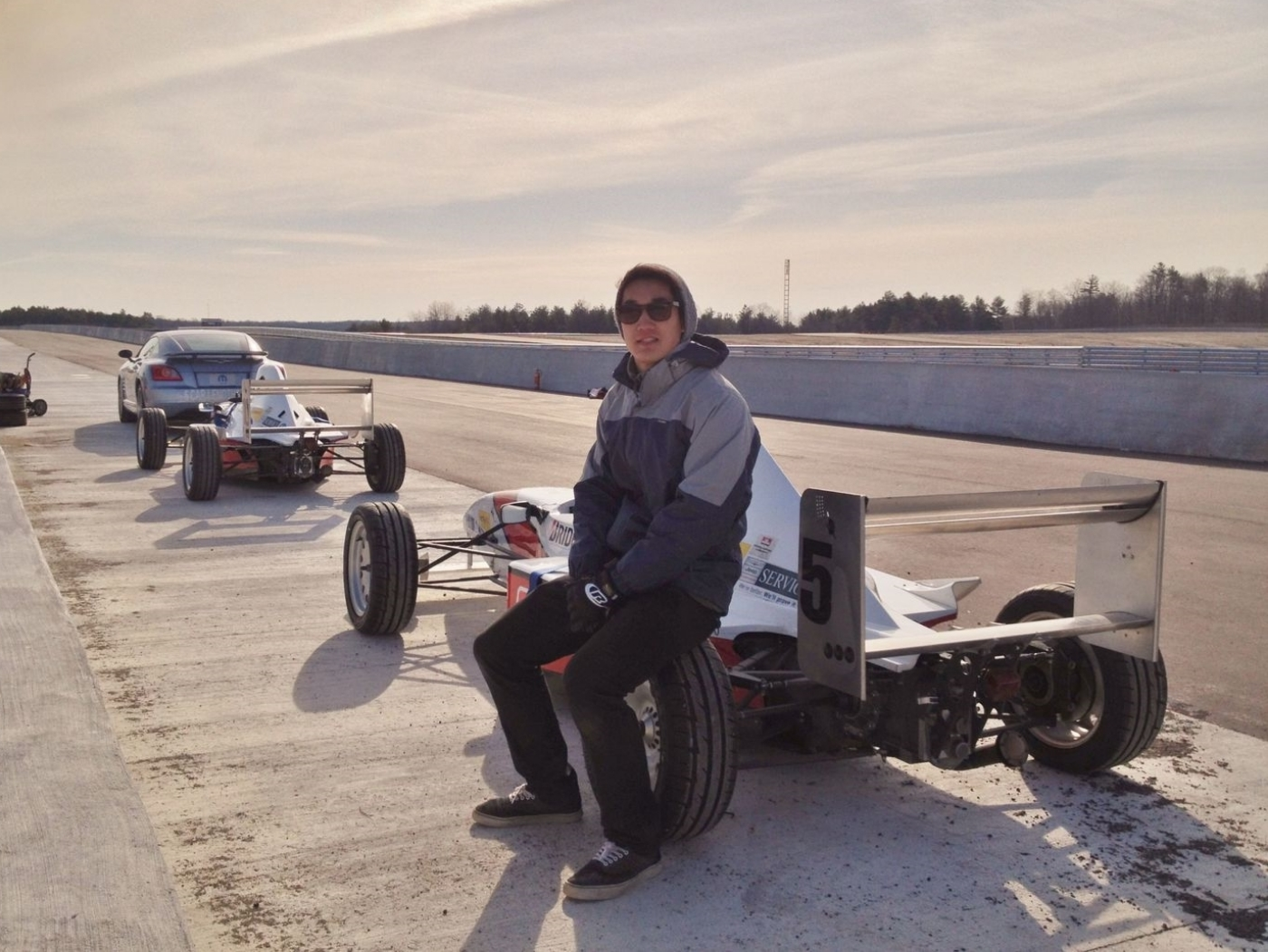 Winter Testing @ Mosport, Driver Development Track Ontario, Canada 2014