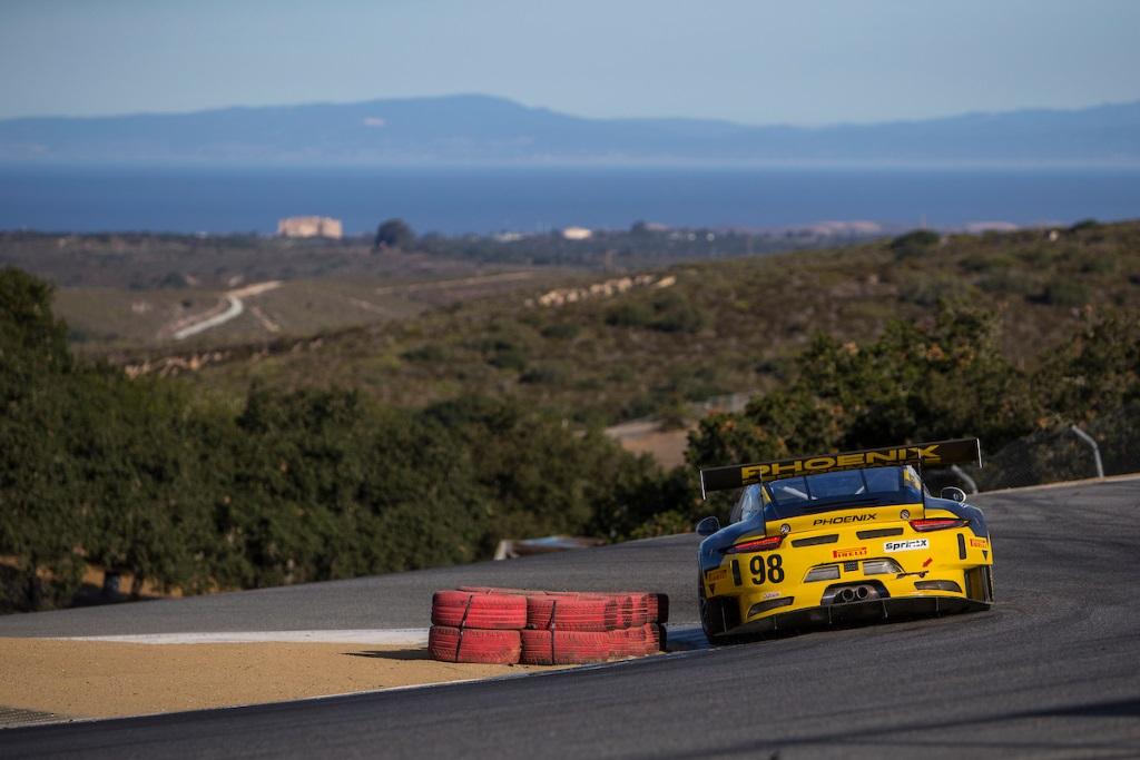 Michael Lewis, No 98 Calvert Dynamics Porsche GT3 Photo credit: Michael Lewis / mjlracing.com