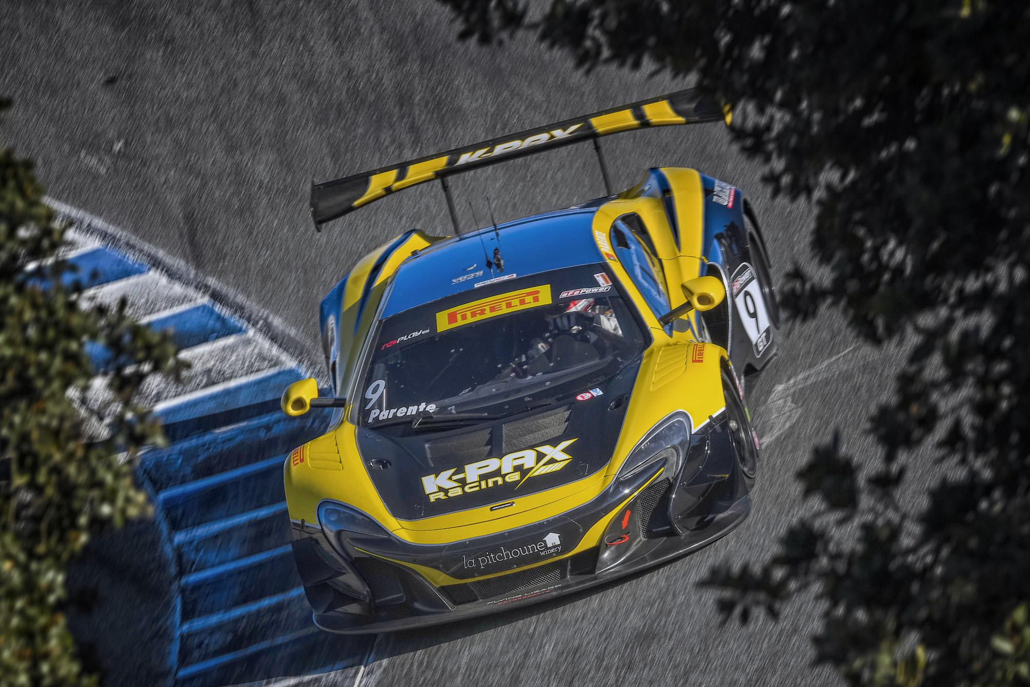 2016 PWC GT Champion Alvaro Parente, KPAX Racing McLaren 650S GT3 Photo credit: MotorMavens.com