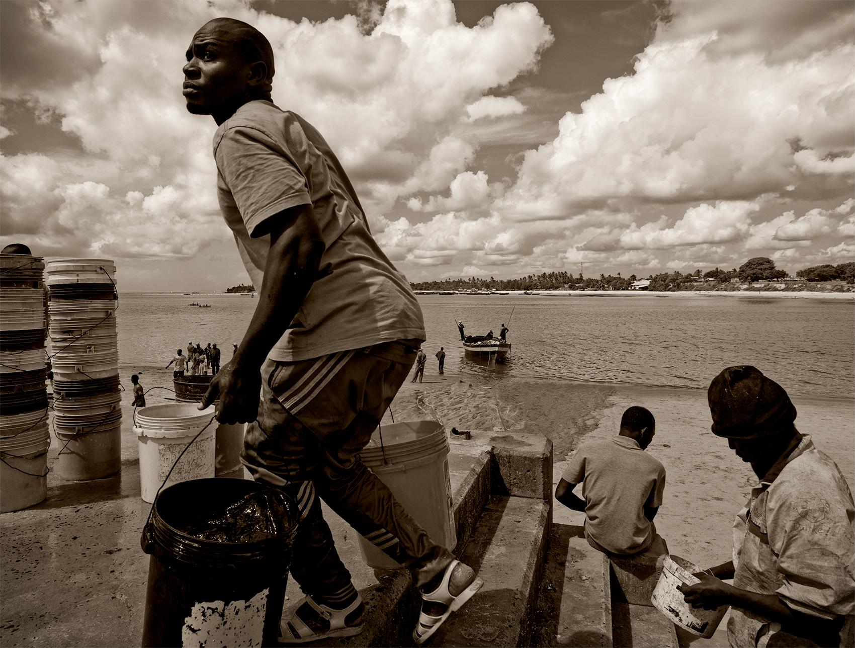 Fish market, Dar Es Salaam, Tanzania