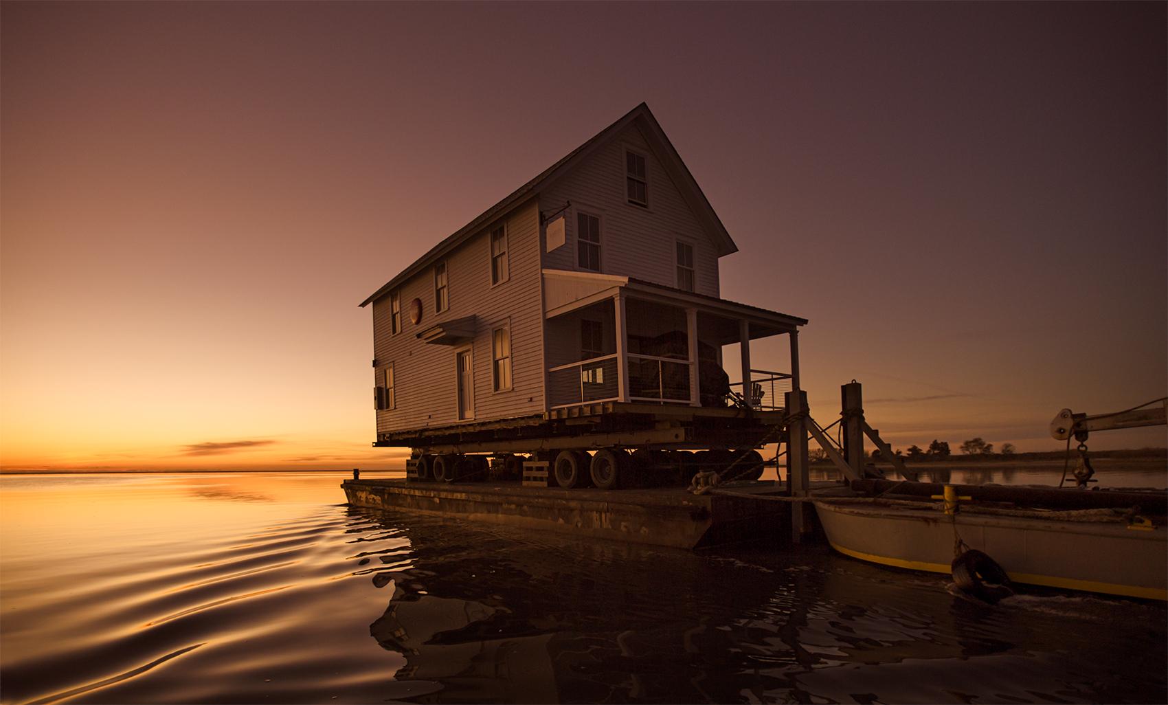 House move, Eastern Shore, Virginia