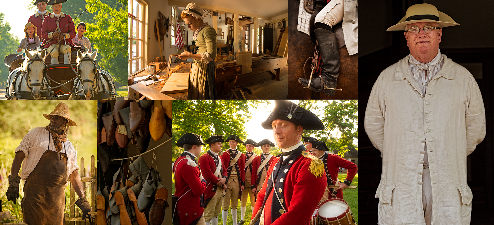 Colonial Williamsburg for Virginia Tourism