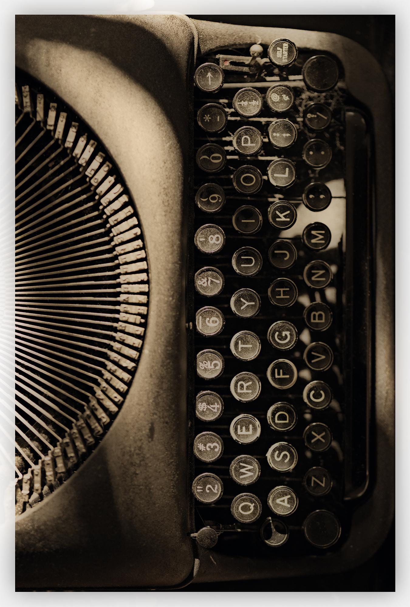Fred's typewriter.