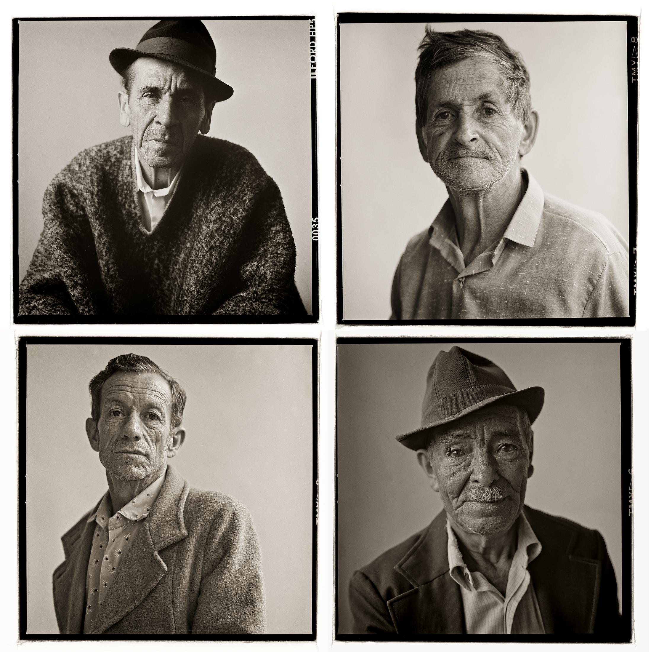 Peasant farmers, Manizales, Colombia 1988-89.