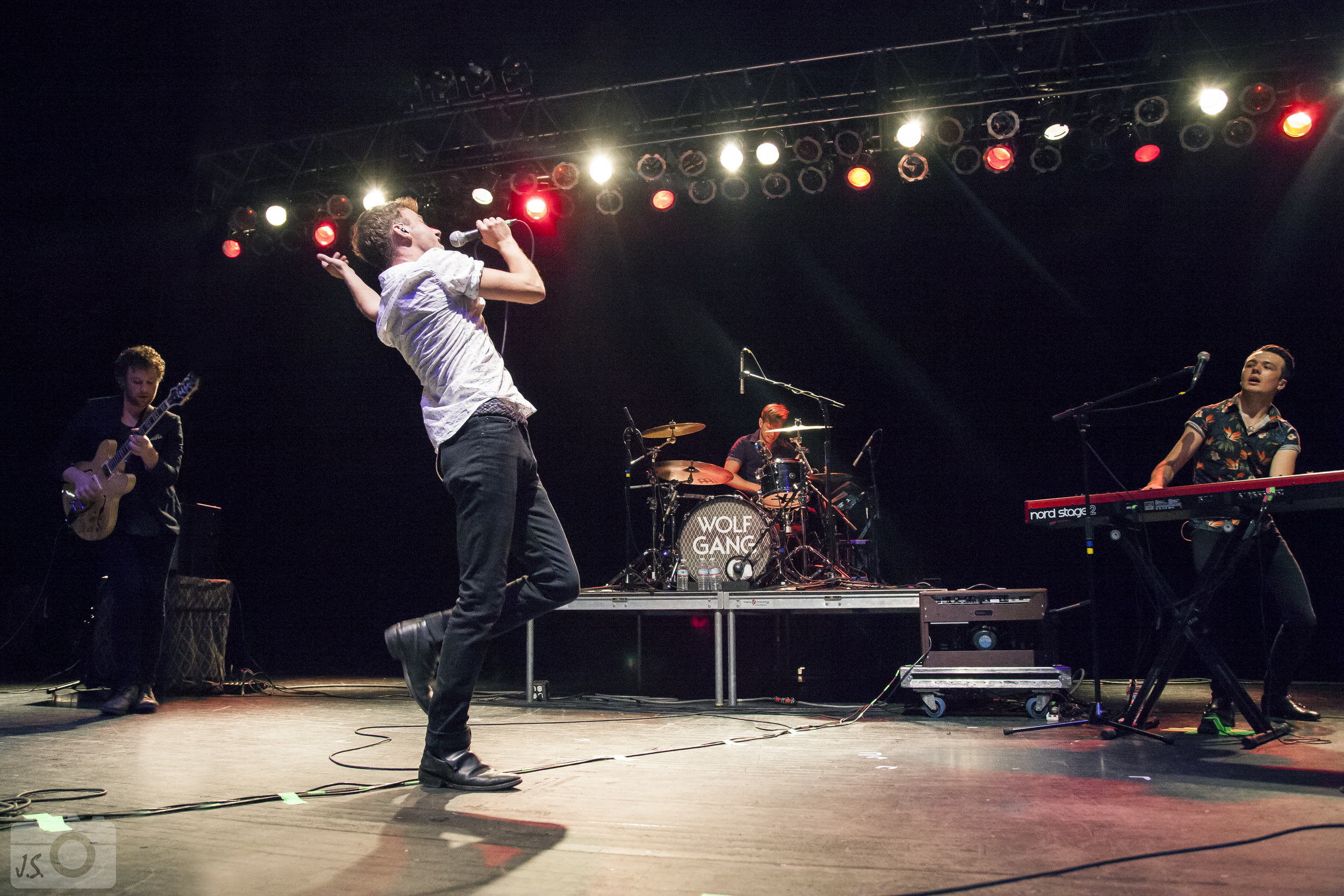 Wolf Gang returns to The National, this time as the headlining act.