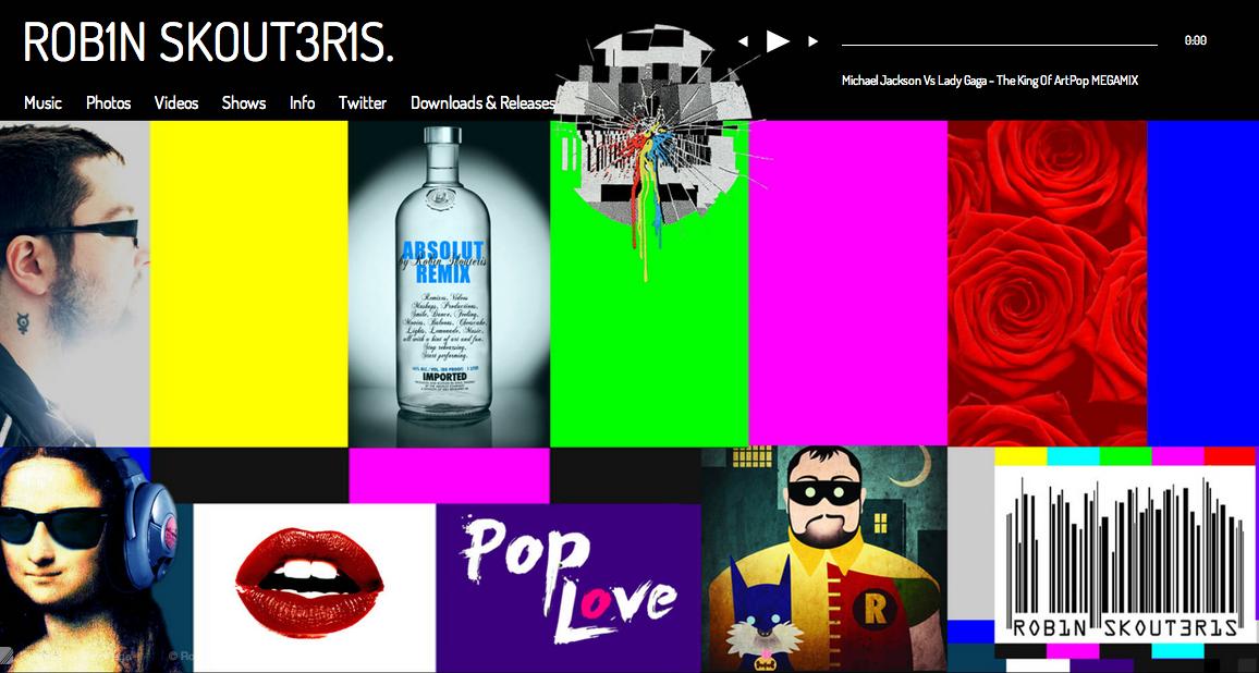 Robin Skouteris's Official Website