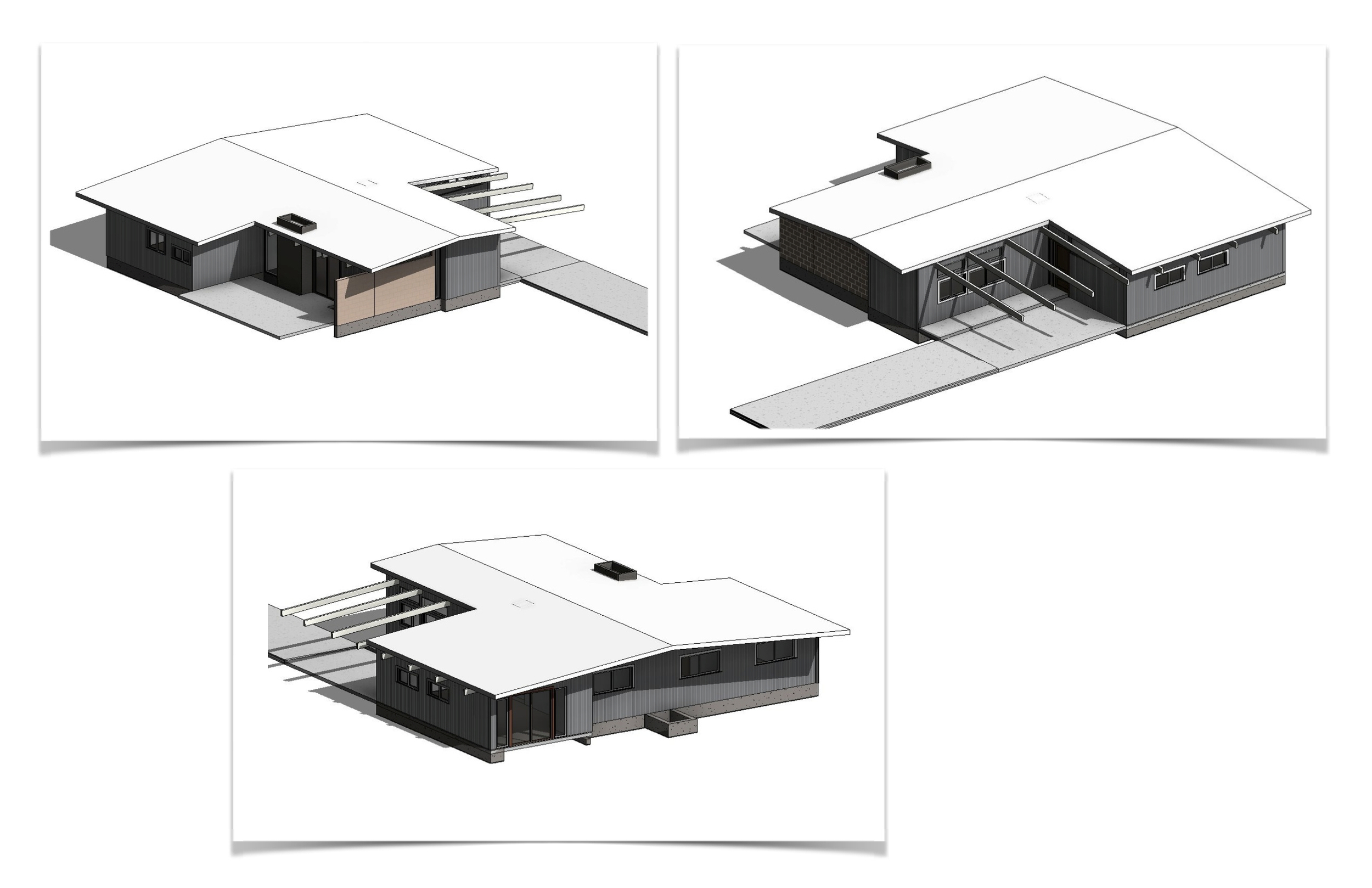 3D model views of a KP home. Credit: Angelo Marasco