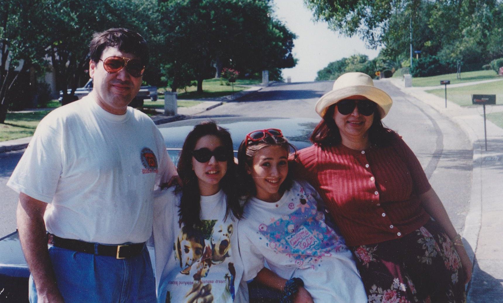 The family, circa 1995-ish.