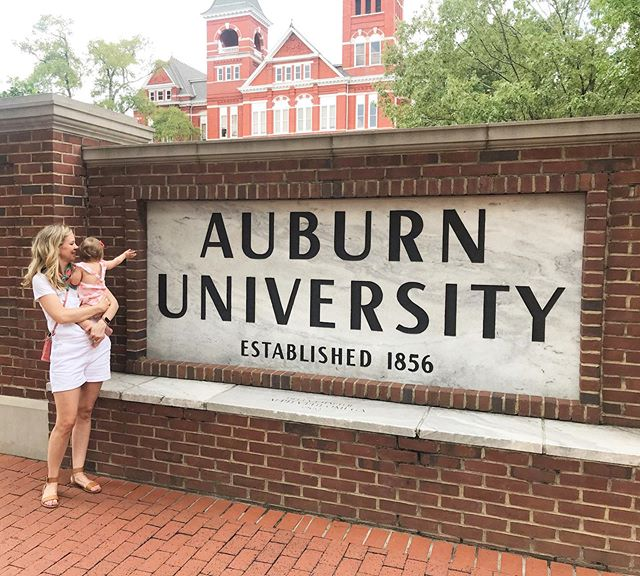 Introducing this future little tiger to Auburn 🐯 Class of 2040
