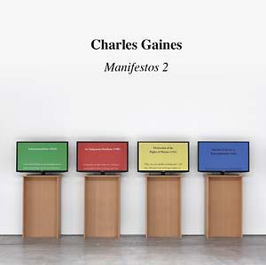 Charles Gaines: Manifestos 2 - violin