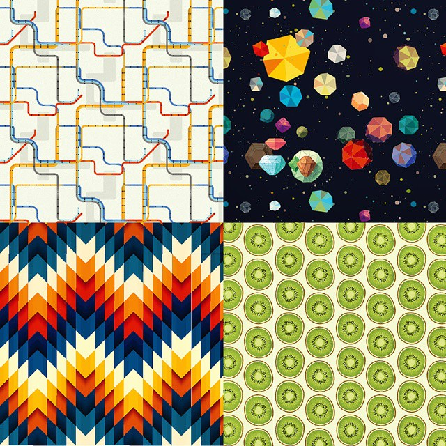 "Awesome pattern resource! ""Ongoing project compiles patterns shared by the most talented designers out there..."" #thepatternlibrary  www.thepatternlibrary.com"