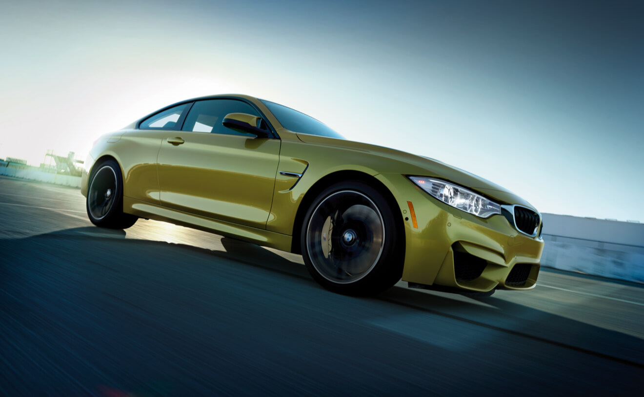 M4 in a nice color. 425 horsepower. From $66,200.