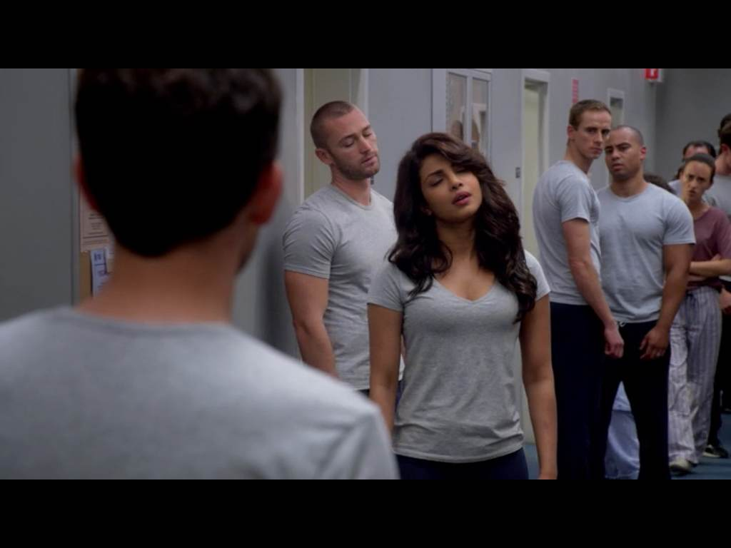 Exactly how I felt by the end of the third episode. Time to quit Quantico!