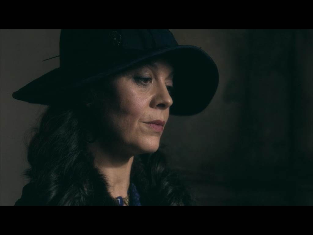 Aunt Polly, tough broad