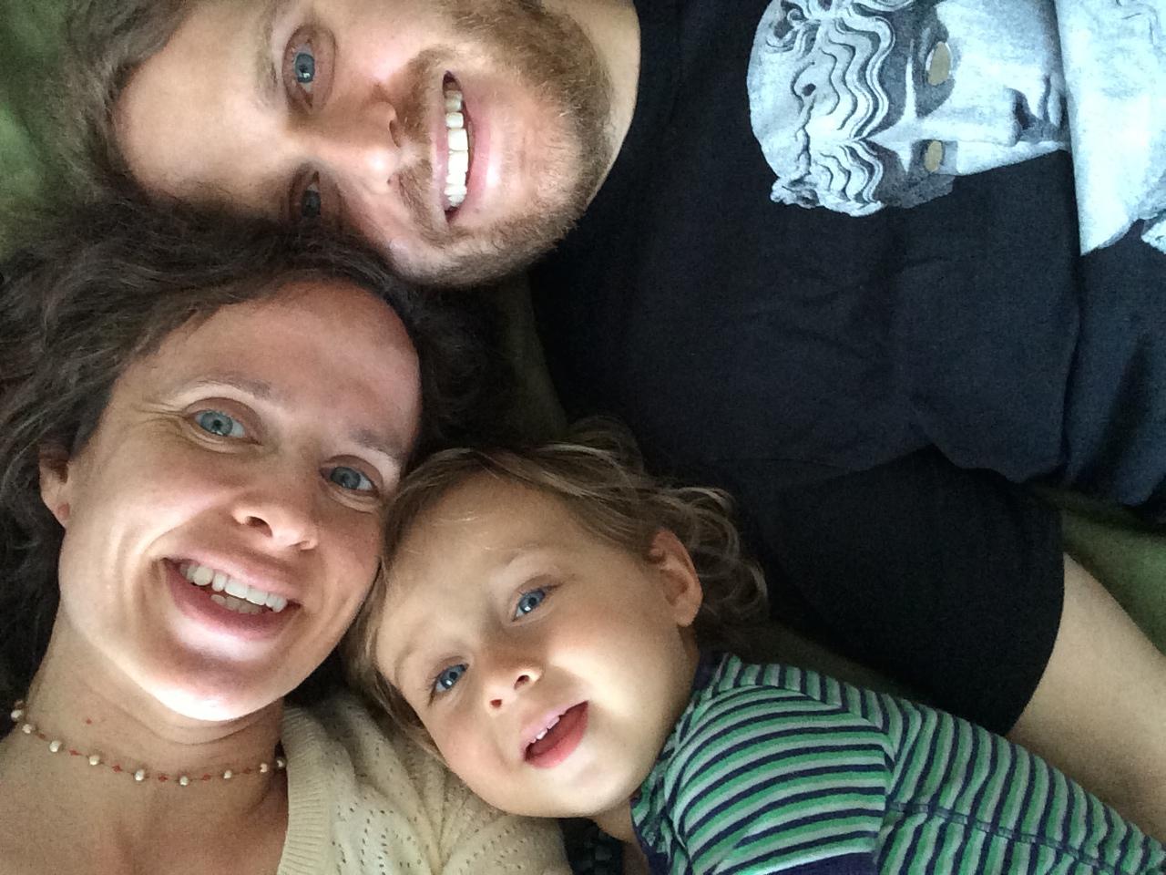 Farrah, Jared and Roman in summer 2014