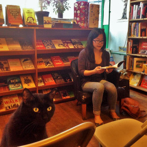 Photo credit: Karma Chávez and Harvey of Rainbow Books (Madison, WI)