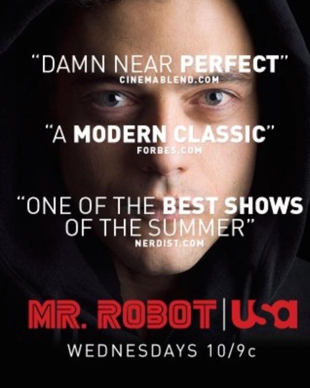 MR. ROBOT Season 1Poster