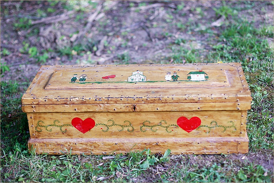 Beautiful box made by Tim for his bride