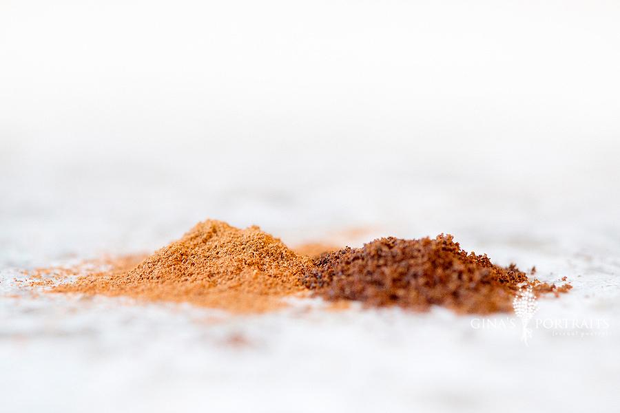 freshly grated cinnamon and cloves… smells soooo good!