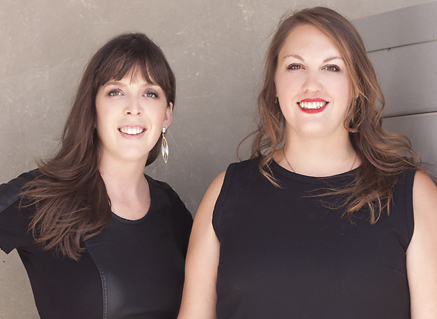 Jacqueline Woods and Carissa Klopoushak head up the Ritornello Festival, going on this weekend.