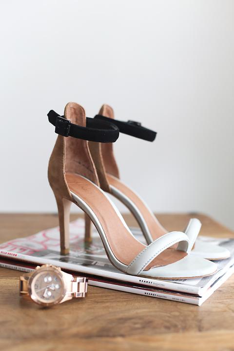Magazines, heels