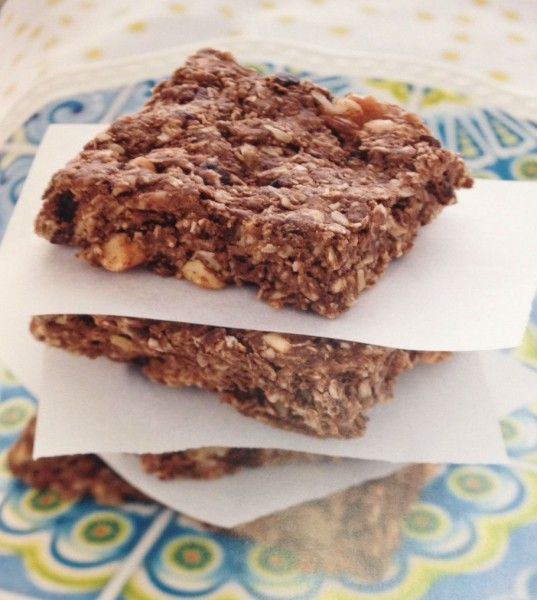 Chocolate Almond Butter Protein Bars