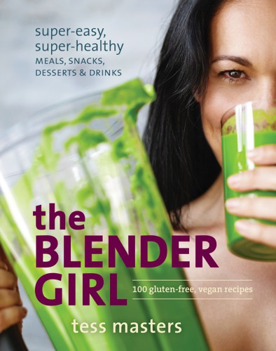 Book cover & images from The Blender Girl