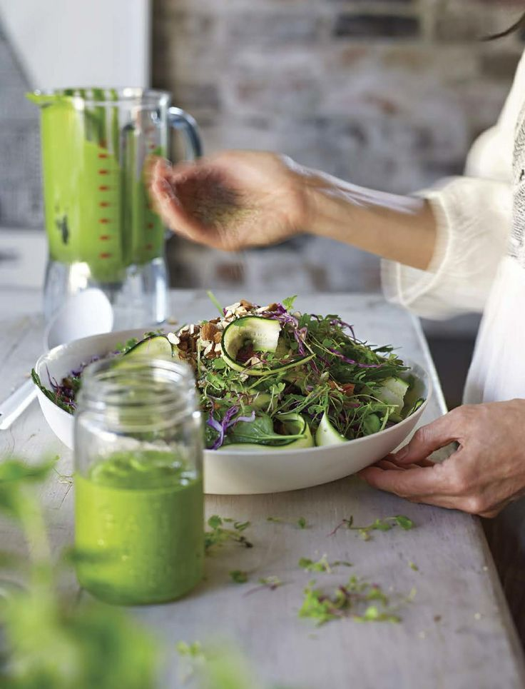 Green Queen Salad by The Blender Girl