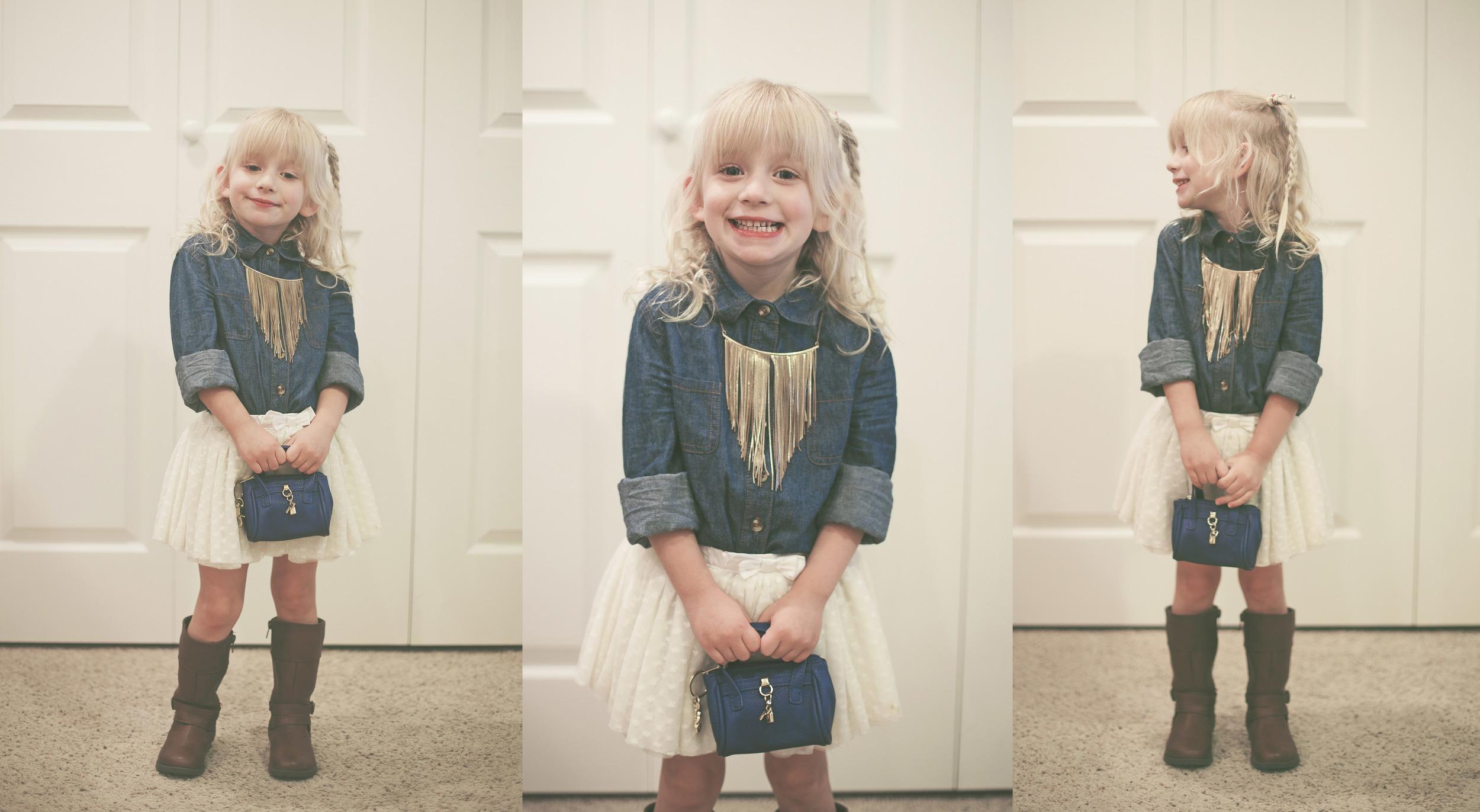 EVERYTHING  is cute with a tutu.             Tutu & boots - Joe Fresh.      //       Purse - Aldo.      //       Necklack - H&M