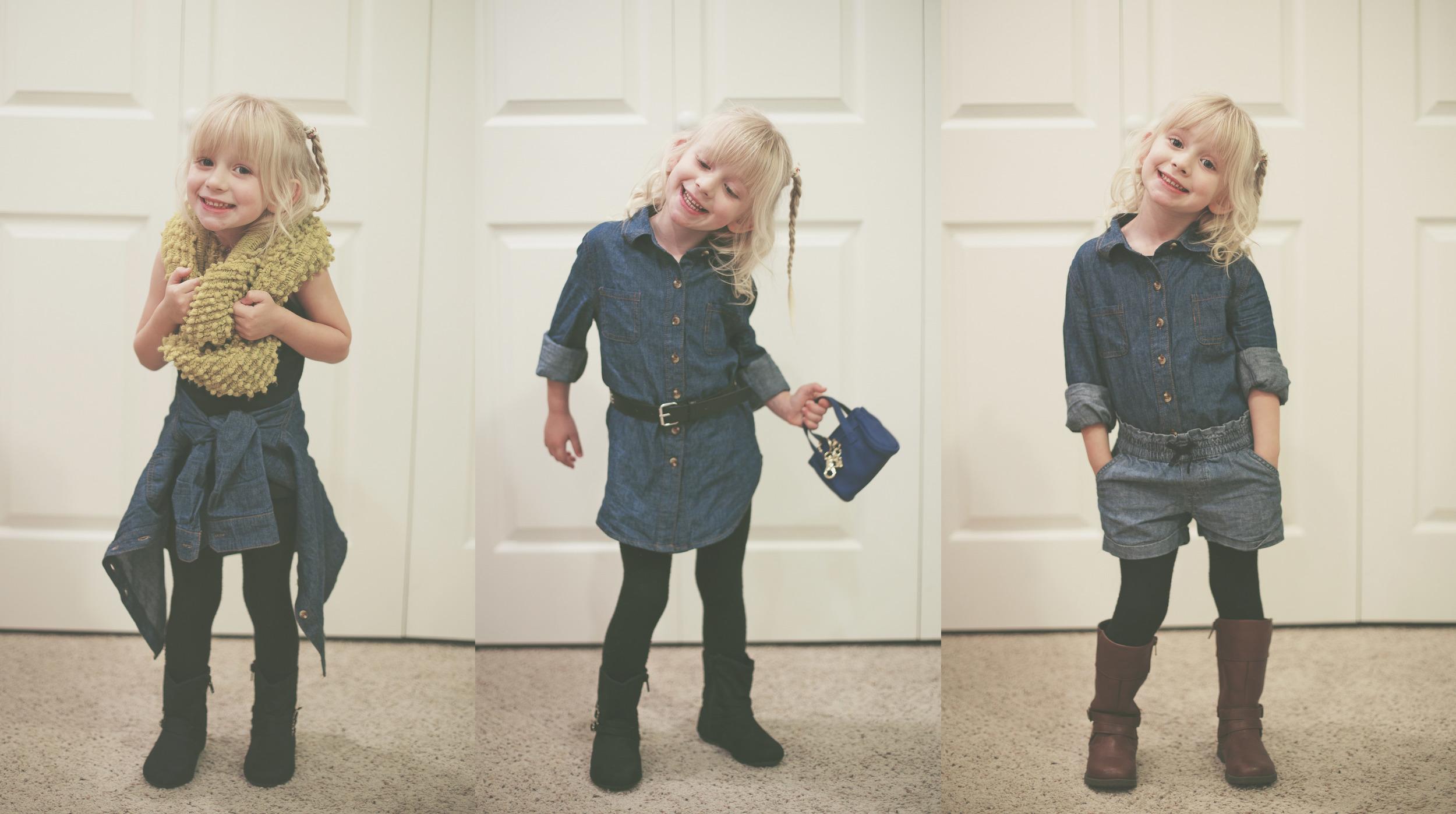 Scarf - Laundry             //           Black Boots - Wal-Mart           //       Denim Shorts - Baby Gap