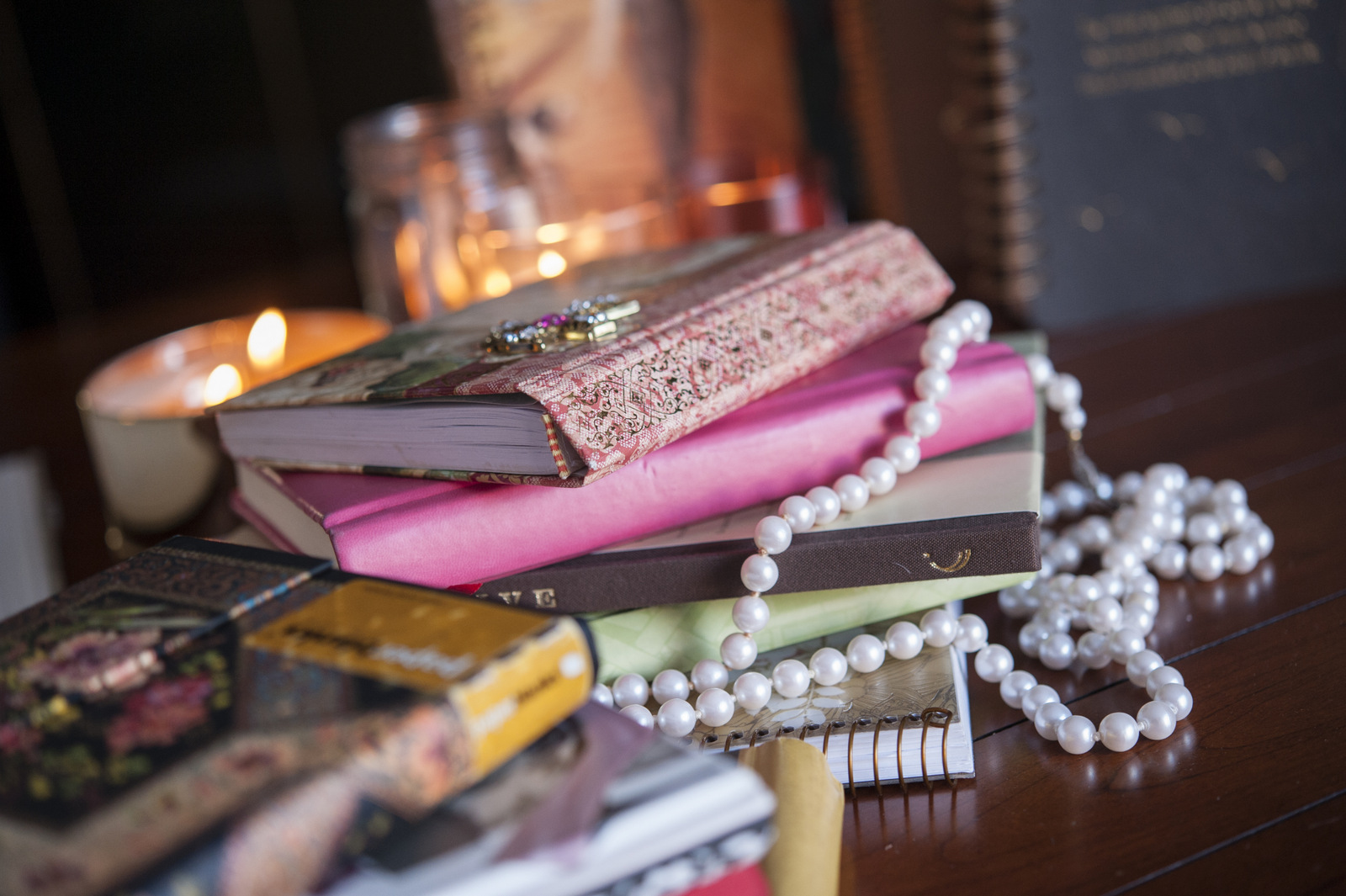 A lifetime of journals.