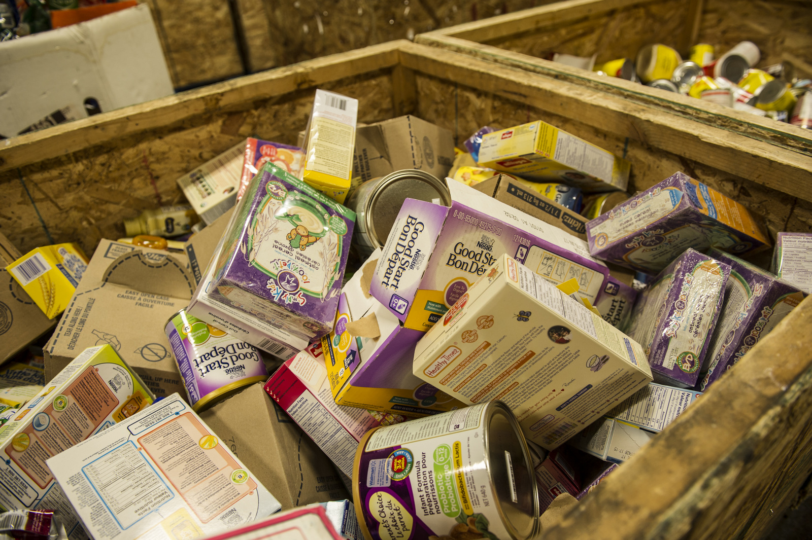 Baby food & baby formula - this is the #1 most needed item at the Food Bank.