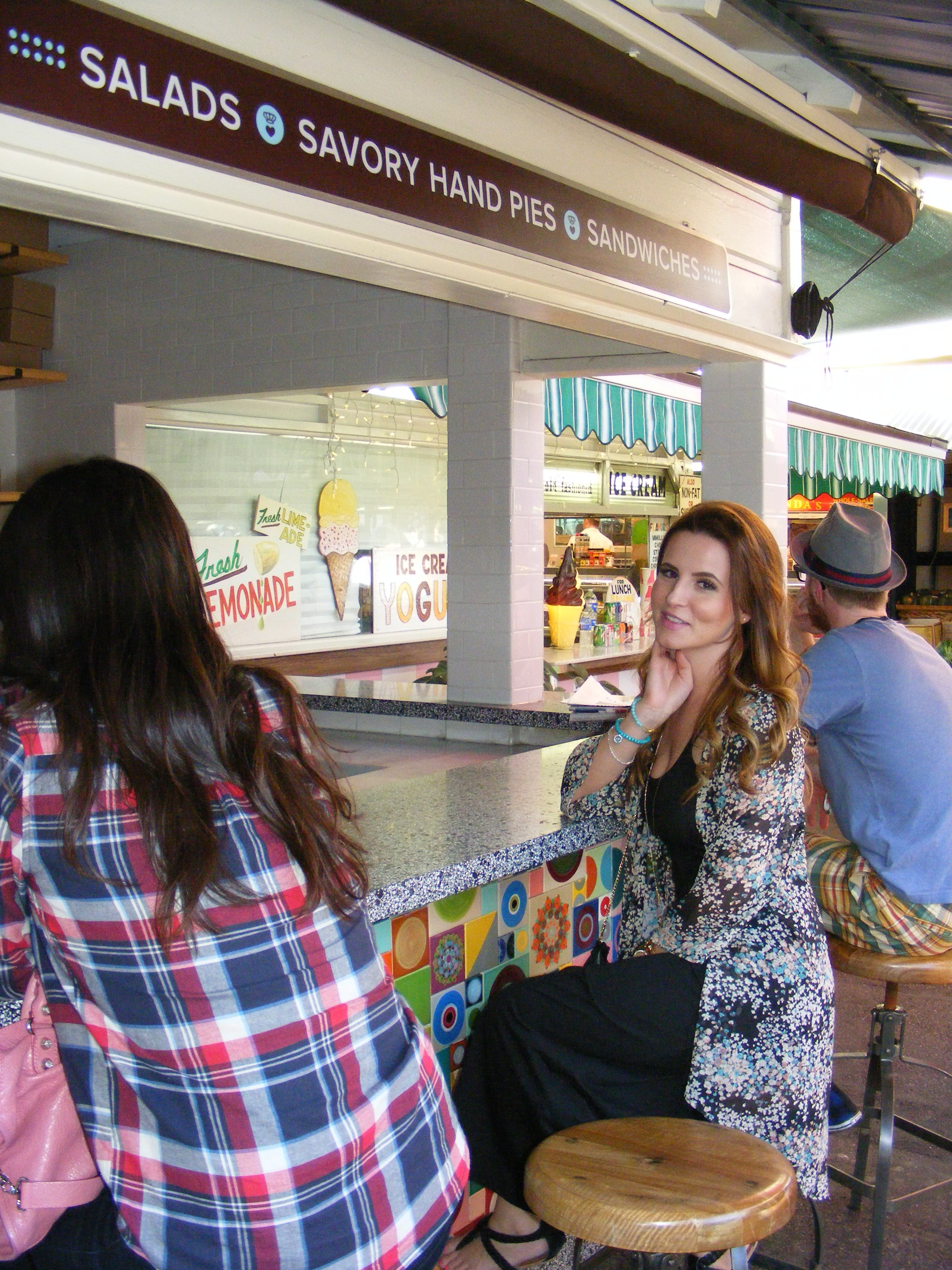 Best place for brunch in L.A., The Farmers Market!